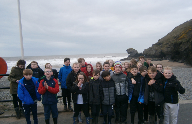 The Urdd camp in Llangrannog